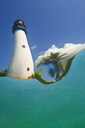 Fish's View of Cape Florida Light