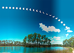 Eclipse Over Long Pine Key