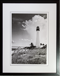 Framed Cape Florida Lt 5